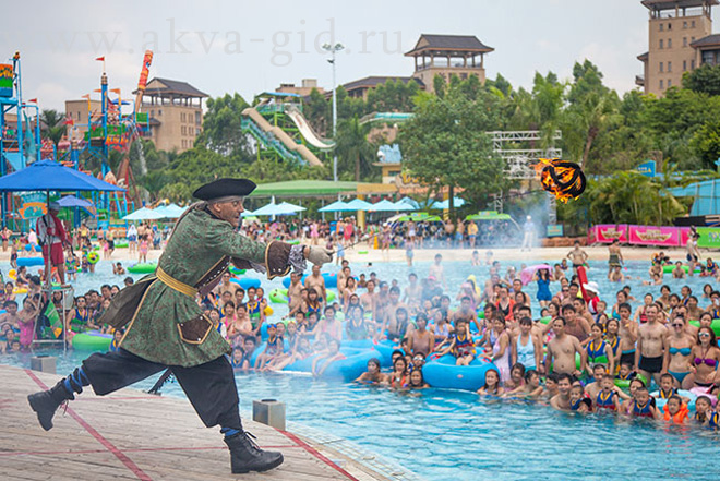 аквапарк chime long water park